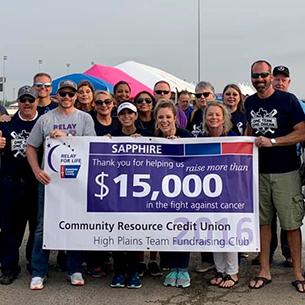 Cropped version of 2019 Relay for Life Group Photo