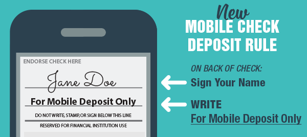 Mobile Check Deposit Rules